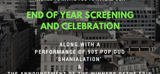 18 NOVEMBER 2015 – END OF YEAR SCREENING & CELEBRATION